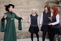 Minerva McGonagall Cosplay - By Dragon_Soul Cosplay / The amazing McGonagall Cosplay by Dragon_Soul Cosplay as talked about on Witch Weekly Episode six.  Support the artist and look at her other work here:  https://www.facebook.com/DragonSoulCosplay/