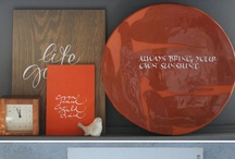 decore with letters
