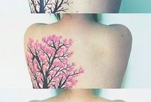 tattoos. / maybe one day i will have one like this. and maybe not and i just like them.