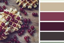 Colour swatches- berries and seeds