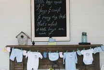 Baby shower stuff / by Kayla Braham