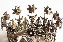 A Crown For Every Princess / Beautiful and elegant crowns to adorn your head or your home!