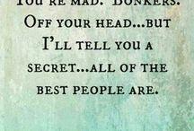 Sayings ...