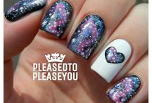 Nail Art / Galaxy