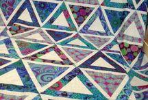 Blue Green Gold Quilt Ideas