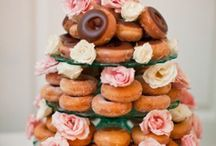 Wedding Donuts Touched by Time Vintage rentals