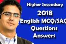 Higher Secondary Exam 2018 | English MCQ-SAQ Question Answer | Suggestion