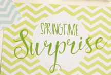 Springtime Surprise 2015 {What I Sent} / Gifts I made and bought for the Springtime Surprise Project organised by Lucy Heath from Capture By Lucy