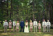 . bridal party .