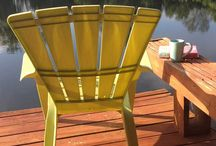 Docks and Decks / Lake life and being surrounded by the beauty of nature. Outdoor living.
