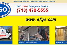 HVAC Service NYC / Need an HVAC Expert? Get in touch with us; visit our website here: http://www.afgo.com/
