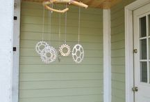 crafts with bycicle parts