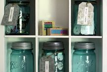 I love MASON JARS / by Lynn Smith Barbadora(Painting Thyme Needfuls)