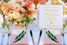 Pink & Gold Wedding