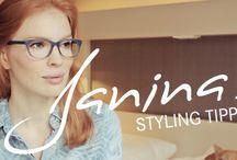 Brillen für jeden Farbtyp / Die perfekte Brille für den Farbtyp Frühling, Sommer, Herbst und Winter