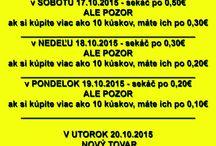 AKCIA MEGASEKÁČ Košice na tento víkend