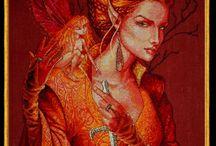 Fantasy & Fairies in Cross Stitch
