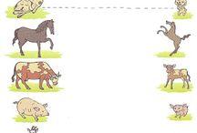 Thema: Boerderij (kleuters) / Lesideeën voor het thema boerderij.