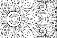 Adult Coloring / Check out our Adult Coloring Program on the first Friday of every month!