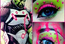 make-up & bodypainting