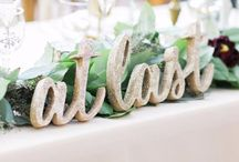 Wedding Inspiration / Wedding inspiration & important how to's for the wedding day.  How to budget for a wedding, the DIY wedding projects to love or leave, and the most important details of the big day!