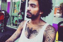 Black Hair men / http://blackhairandskin.com/blog/category/black-hair-men/