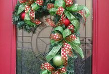 Christmas decorations. / by Stephanie Hallman