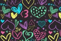 wallpaper heart and love