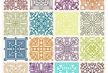 Square Patterns / x stitch