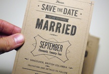 wedding stationary / save the dates, invites, printables & more...