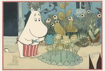 [postcrossing] Moomin cards i've RECEIVED / for postcrossing users