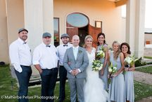 Grey and silver wedding detail