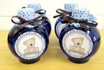 Festa Ursinho e Ursinha / Lembrancinhas e convites personalizados tema ursinho ou ursinha