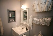 Decorating-Bathroom Ideas / by Carole Kilsdonk