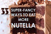 Nutella!!!! Omg :0 / 33super fatty ways to Eat nutella