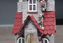 Tim holtz village house