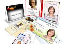 Memorial Cards / Funeral and Memorial Cards to Celebrate and Honor Your Loved One's Memory