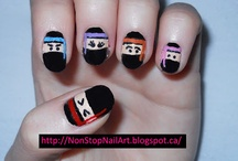 Inspired by PolishPals / I'm honored to inspire you! Check out some of the manicures people have created. :)