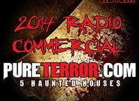 Radio Spot Promos 2014 / Our Radio Spot Promos airing soon on K104 & WRRV...Hope you are excited as we are for opening night and to kick off a BIGGER, BETTER & SCARIER SEASON...scare you all soon!!!!