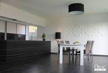 Cocinas / Como crear un ambiente ideal con cornisas, molduras, zócalos y elementos decorativos con productos de la Marca Orac Decor. Fácil instalación y fáciles de pintar.