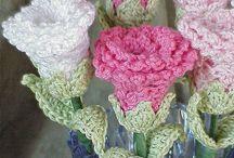 Crochet flower / by Grace Konzelman