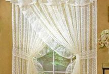 Lace Curtains / Our lace window curtain panels are an incredible value and quality, with prices starting as low as $9.96!  We have offered fine lace curtains from Heritage Lace since 1976.