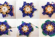Beaded earring patterns / Fülbevalóminták gyöngyből :-)