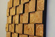 wooden mozaic