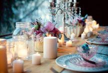table decor / by Kristen Karamatic
