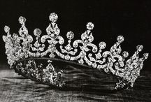 crowns and tiaras / by Tammy Couch