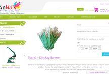 Supplier Standing Banner & Bahan Digital Printing