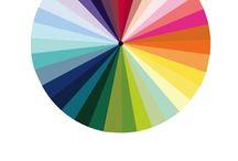Wedding Color / colour Wheel theme