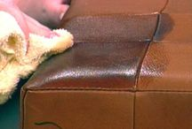 Leather cleaning tips