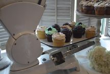 Dessert Stands / Unique dessert display options we have available to rent.